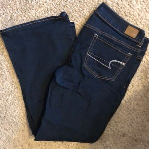 Size 14 Bootcut American Eagle Jeans